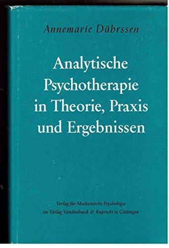 9783525456163: Analytische Psychotherapie in Theorie, Praxis und Ergebnissen
