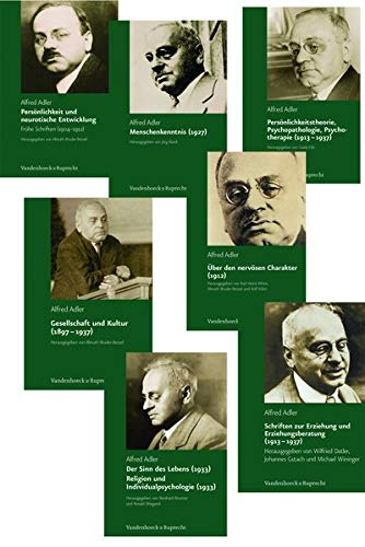 Alfred Adler Studienausgabe Bande. 1-7 (Hardback)