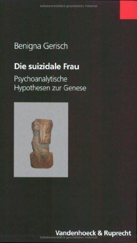 9783525461761: Die suizidale Frau.