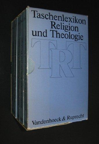 9783525501238: Taschenlexikon Religion und Theologie. Band 1-4: 5 Bde.