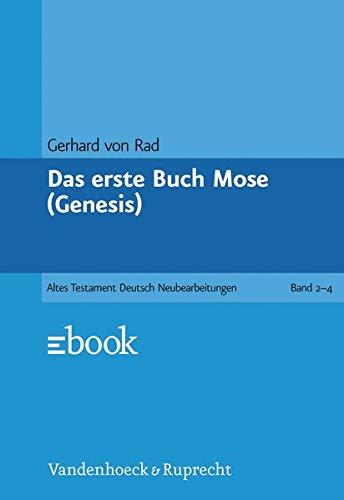 9783525511114: Das erste Buch Mose (Genesis) (Das Alte Testament Deutsch. ATD. Kartonierte Ausgabe)