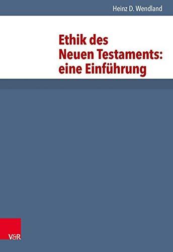 9783525513552: Ethik d.NT