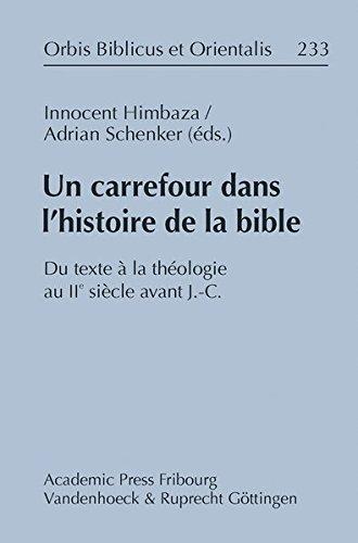 Un carrefour dans l' historie de la Bible (Orbis Biblicus Et Orientalis): Himbaza, Innocent, ...