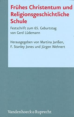 Frühes Christentum und Religionsgeschichtliche Schule: Martina Janßen