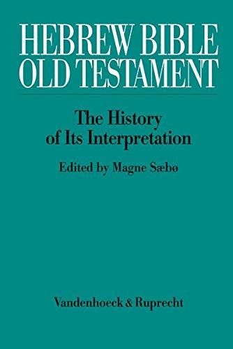 Hebrew Bible/Old Testament - kpl/Vol. I-III in 5 Teilbänden: Magne S�b�
