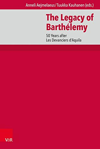 The Legacy of Barthelemy: 50 Years After