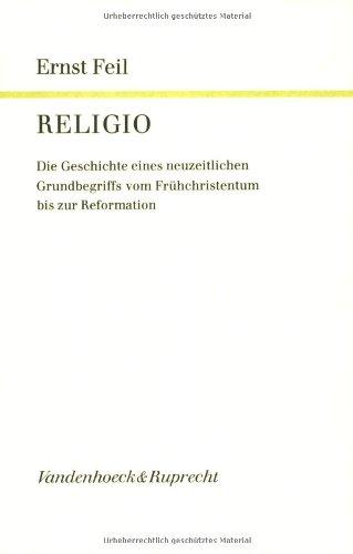 Religio: Ernst Feil