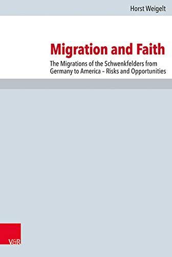 Migration and Faith: Horst Weigelt (author),