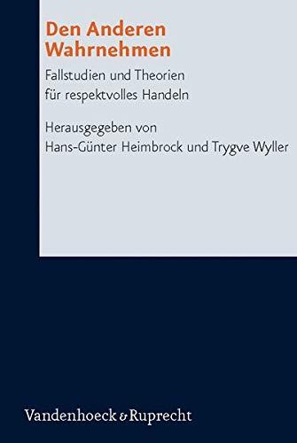 Den Anderen Wahrnehmen: Hans-Günter Heimbrock