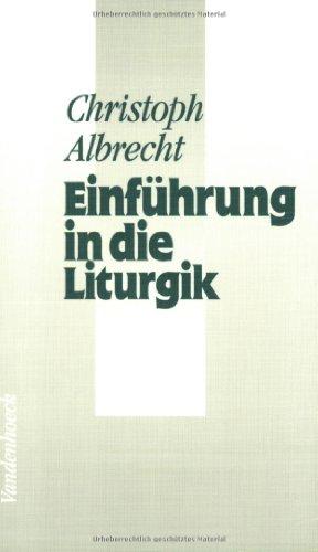 9783525571941: Einführung in die Liturgik (Neue Studien Zur Philosophie)