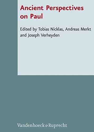 9783525593592: Ancient Perspectives on Paul (Novum Testamentum et Orbis Antiquus/Studien zur Umwelt des Neuen Testaments)