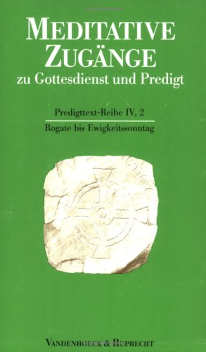 9783525602713: Rogate bis Ewigkeitssonntag