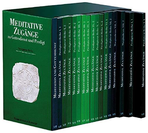 9783525602881: Meditative Zugänge zu Gottesdienst und Predigt, 13 Bde.