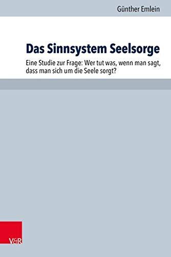 Das Sinnsystem Seelsorge: Eine Studie Zur Frage: Wer Tut Was, Wenn Man Sagt, Dass Man Sich Um Die ...