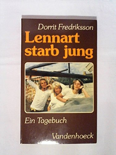 9783525633373: Lennart starb jung. Ein Tagebuch