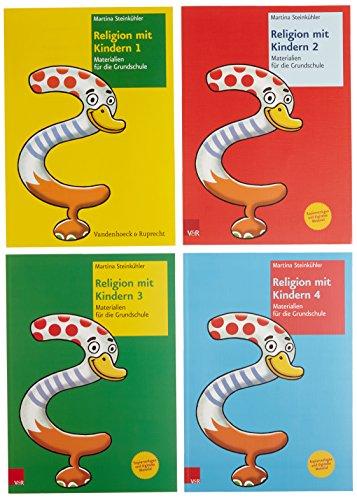 Religion mit Kindern Paket Band 1-4: Martina Steinkühler
