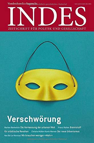 9783525800133: Verschwörung: Indes. Zeitschrift für Politik und Gesellschaft 2015 Heft 04