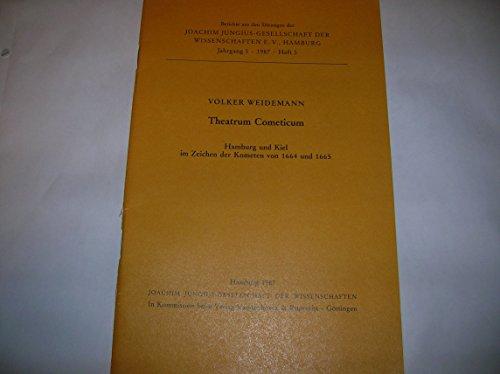 9783525862261: Theatrum Cometicum. Hamburg und Kiel im Zeichen des Kometen von 1664 und 1665, Heft 3