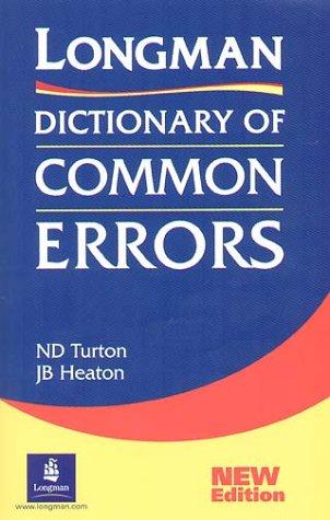 9783526237525: Longman Dictionary of Common Errors. (Lernmaterialien)