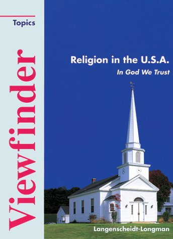 9783526507604: Viewfinder Topics, Religion in the U.S.A.