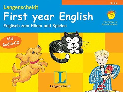 9783526508878: First year English. Langenscheidt