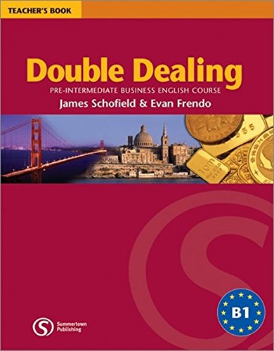 9783526511502: Double Dealing. Teacher's Book
