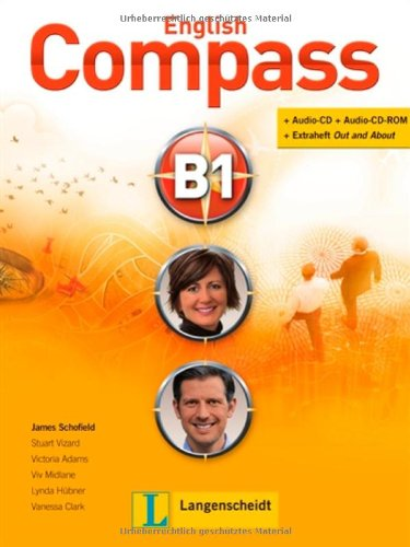 9783526512714: English Compass B1. Student's Book mit 2 Audio-CD/CD-ROMs