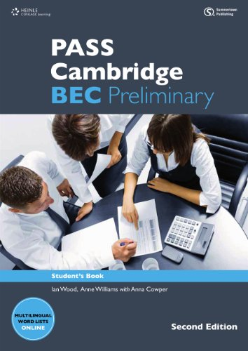 9783526513728: Pass Cambridge BEC Preliminary. Student's Book