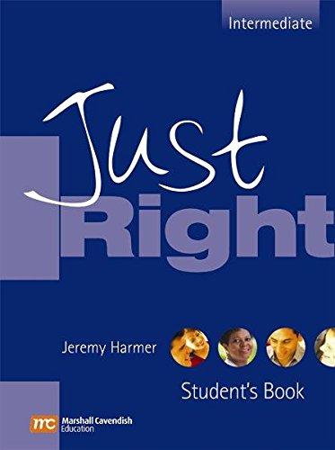 9783526514015: Just Right, Intermediate, Student's Book