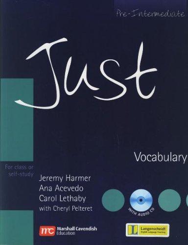 9783526514398: Just - Pre-Intermediate. Vocabulary
