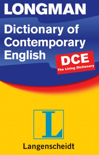 9783526516729: Longman Dictionary of Contemporary English (DCE 4)