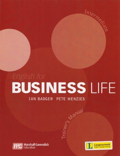 9783526517924: English for Business Life - Intermediate. Trainer's Manual