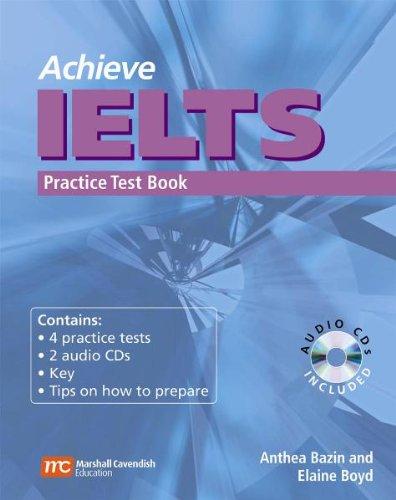 9783526518389: Achieve IELTS Practice Test Book
