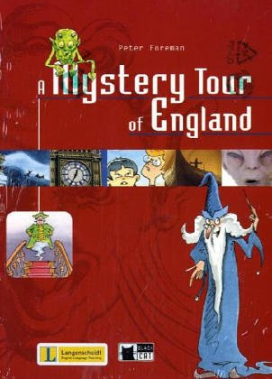 9783526524021: A Mystery Tour of England, w. Audio-CD