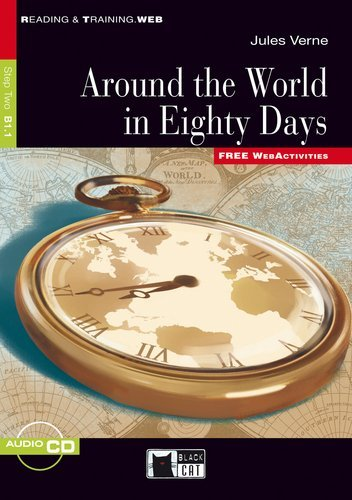 9783526525493: Around the World in Eighty Days: Reading & Training Step 2