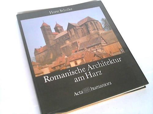 9783527175680: Romanische Architektur am Harz
