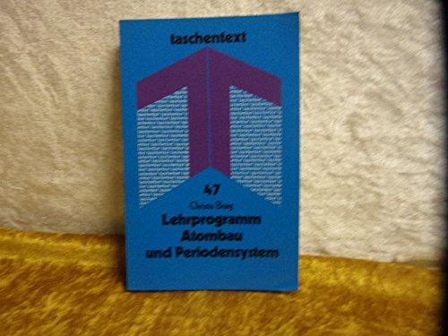9783527210510: Lehrprogramm Atombau und Periodensystem (Taschentext)