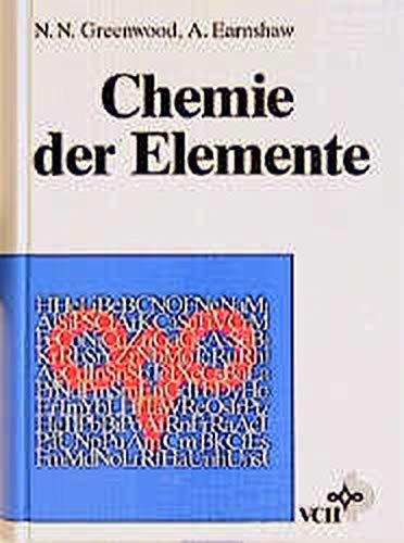Chemie Der Elemente - Greenwood, N.N.