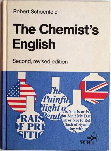 9783527265978: The Chemist's English
