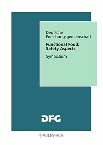 9783527277650: Functional Food: Safety Aspects (Forschungsberichte (DFG))