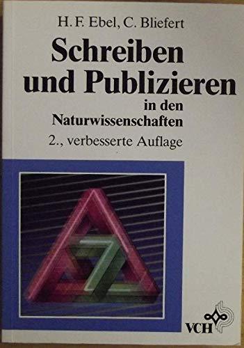 9783527282753: Schreiben und Publizieren in den Naturwissenschaften