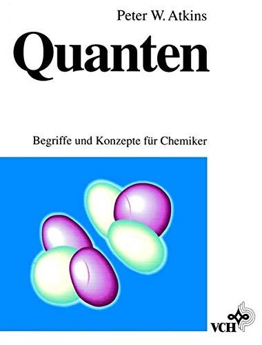 9783527284238: Quanten Begriffe Und Konzepte Fur Chemiker