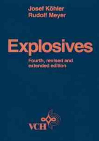 9783527285068: Explosives, 4.rE