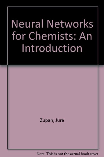 9783527285921: Neural Networks for Chemists: An Introduction