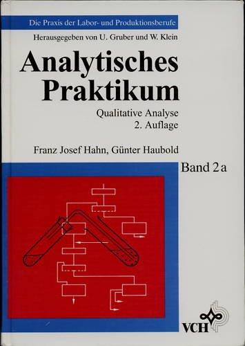 9783527286263: Analytisches Praktikum - Qualitative Analyse 2e