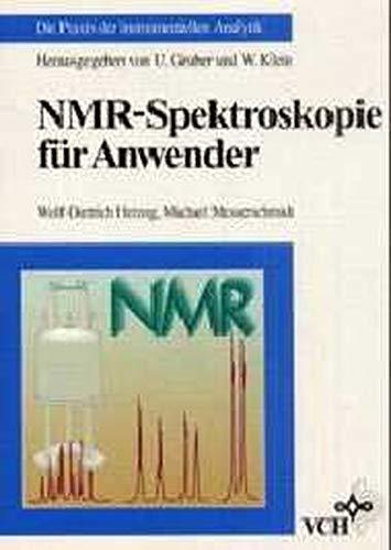 9783527286904: Nmr-Spektroskopie Fuer Anwender