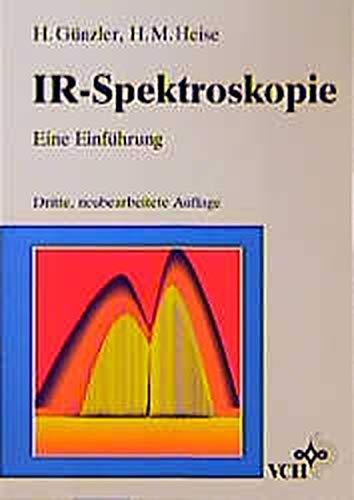 9783527287598: Ir-Spektroskopie Eine Einfuhrung 3ed