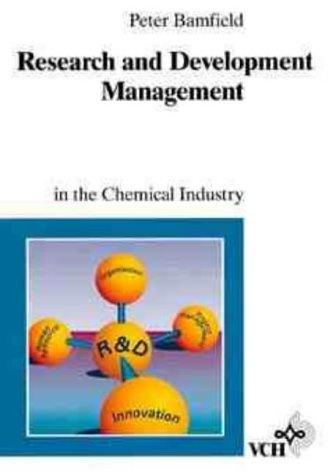9783527287789: Research and Development Management in the Chemical Industry