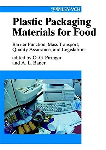Plastic Packaging Materials for Food : Barrier