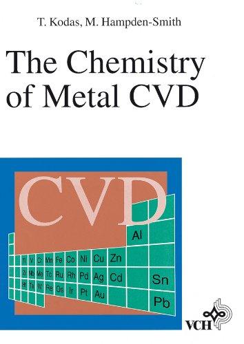 The Chemistry of Metal CVD: Hampden-Smith, Mark J.,